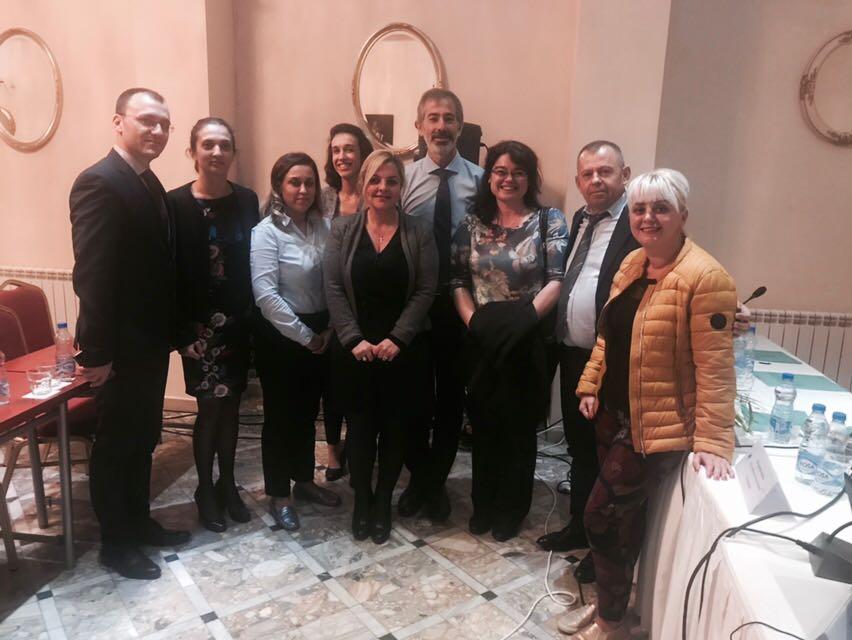 Zyrtarët e Autoritetit Shqiptar të Auditimi në TAIEX